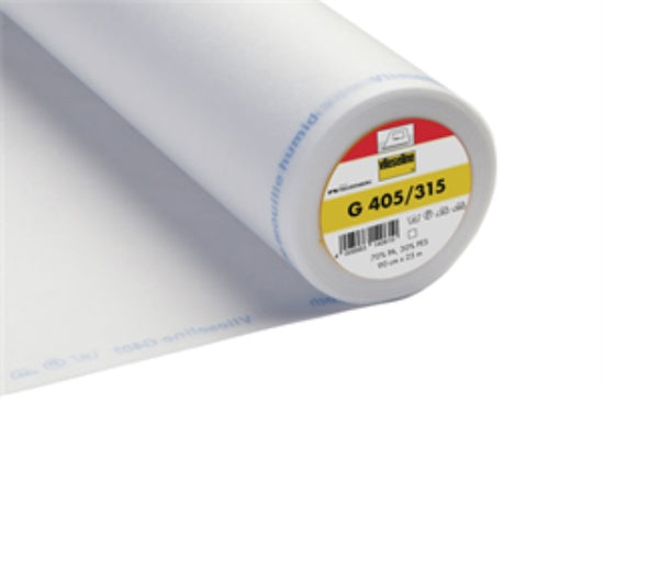 Medium Ultrasoft Iron On Interfacing - White (2V315)