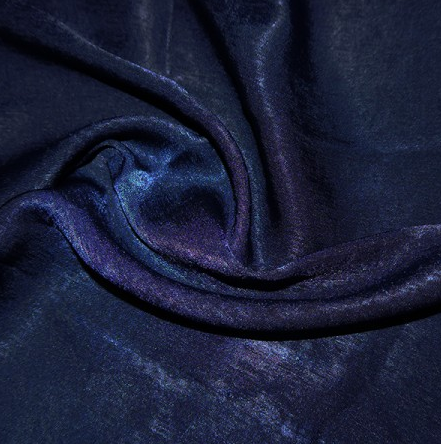 Polyester Sand Washed Silk Touch - Navy