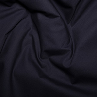 100% Cotton Poplin - Navy