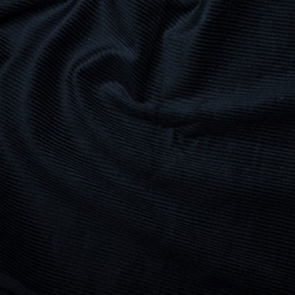 100% Cotton Corduroy 8 wale - Navy