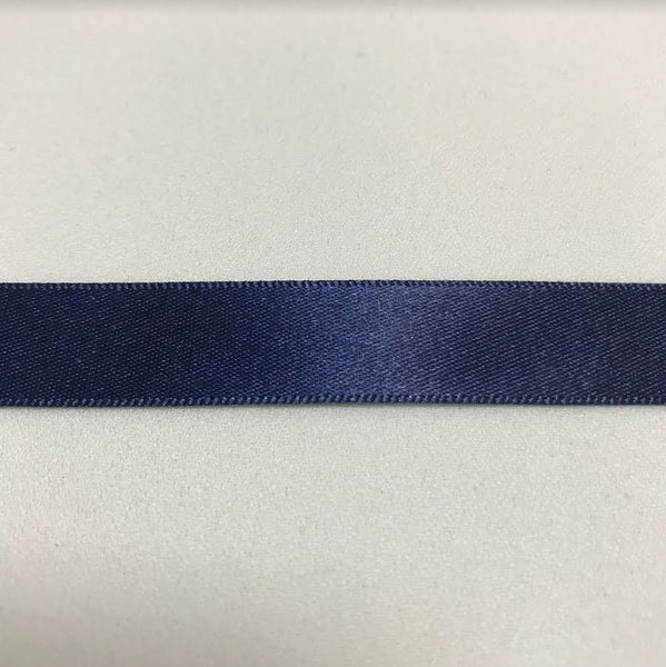 Satin Ribbon - Navy