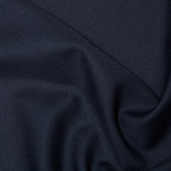 100% Polyester Twill - Navy