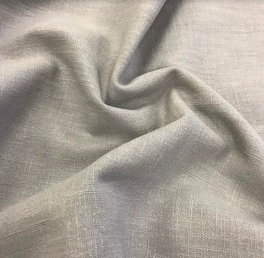 Enzyme Washed Linen - Grey