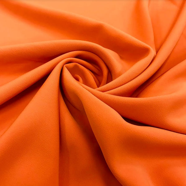 Luxury Crepe - Orange