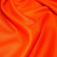 100% Cotton Canvas - Orange