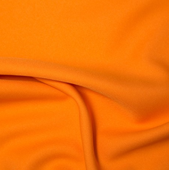 100% Polyester Twill - Orange