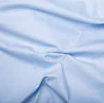 100% Cotton Poplin - Pale Blue