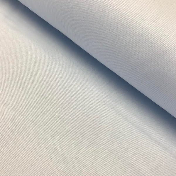100% Cotton Pique Sienna - Pale Blue