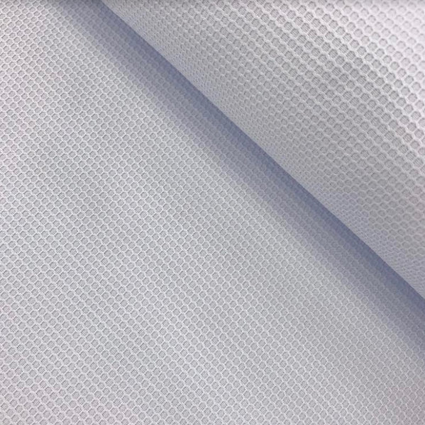 100% Cotton Pique Lario - Pale Blue