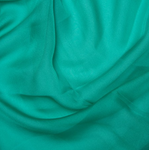 100% Polyester Cationic Chiffon - Peppermint