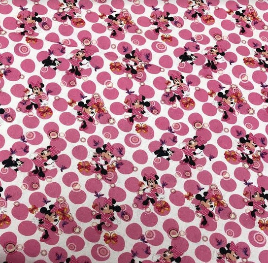 Minnie Mouse Digital Print Cotton