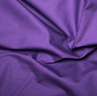 100% Cotton Poplin - Purple