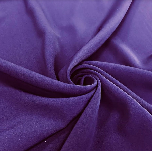 Luxury Crepe - Purple