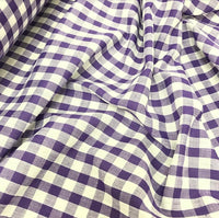 "1/4"" Gingham - Purple"