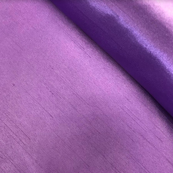 Satin Back Dupion - Purple