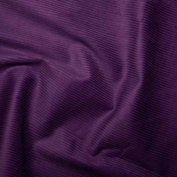 100% Cotton Corduroy 8 wale - Purple