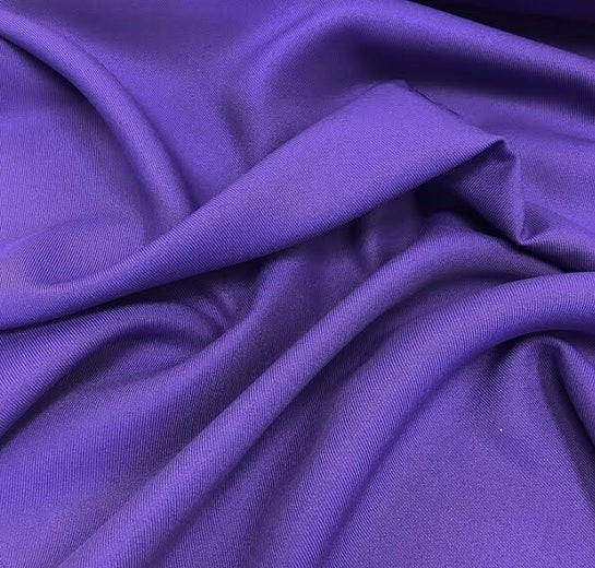 100% Polyester Twill - Purple