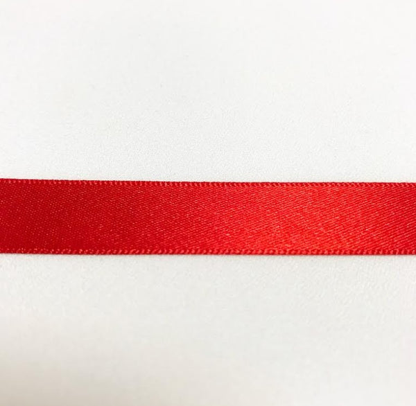 Satin Ribbon - Red
