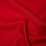 100% Polyester Twill - Red