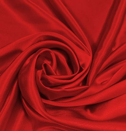 100% Cotton Corduroy 8 wale - Red