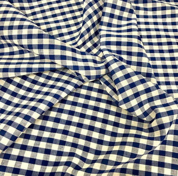 "1/4"" Gingham - Royal"