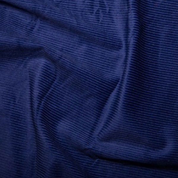 100% Cotton Corduroy 8 wale - Royal