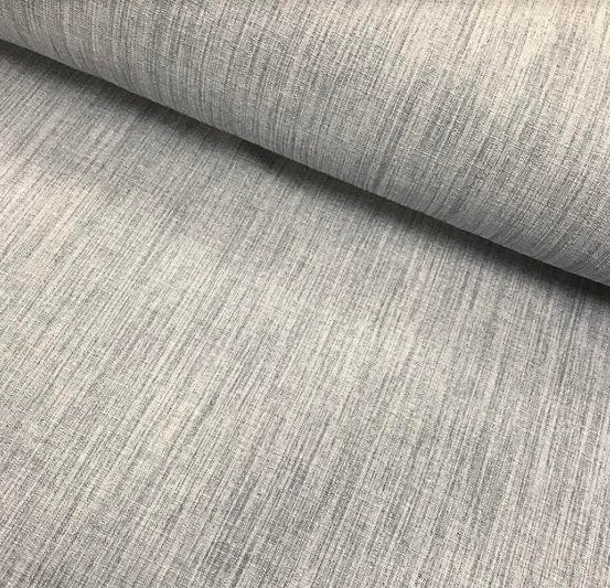 Polyester Linen Look - Silver