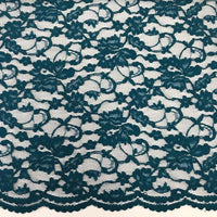 Double Scallop Lace - Teal
