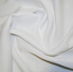 Polyester Sand Washed Silk Touch - White