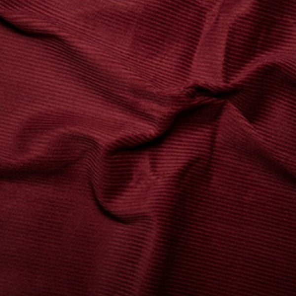 100% Cotton Corduroy 8 wale - Wine