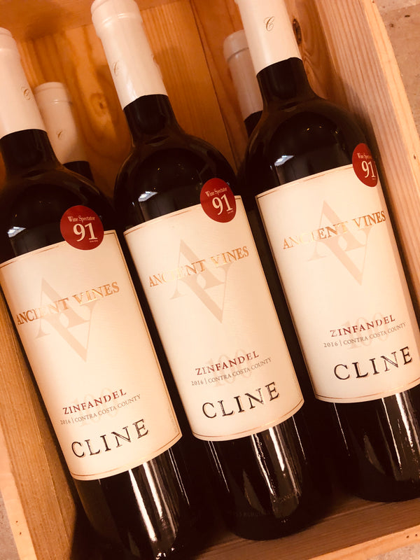 Ancient Vines Zinfandel Cline 2016 -  Contra Costa County