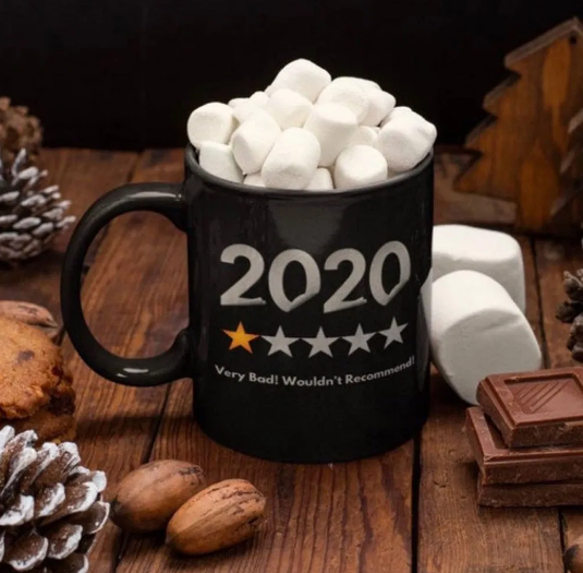 2020 1 Star Would Not Recommend Funny Gift Mug