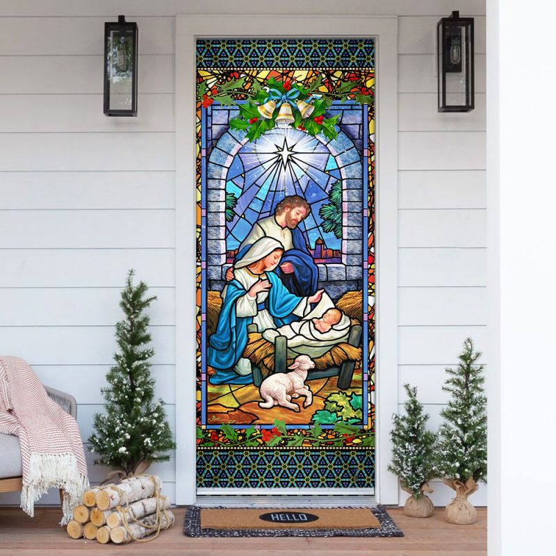 Jesus Is Born Door Cover
