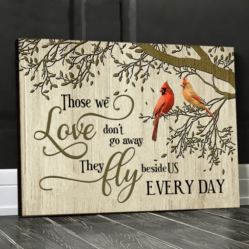 Eviral Store Those We Love Cardinal Wall Art Poster