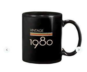 Trending Vintage Style 1980s Classic Mug