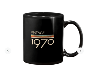 Trending Vintage Style 1970s Classic Mug