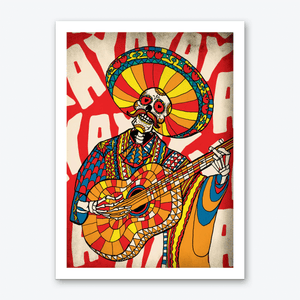 Mariachi Art Print Wall Art Decor Poster