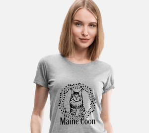 Women's Premium Maine Coon T-Shirt