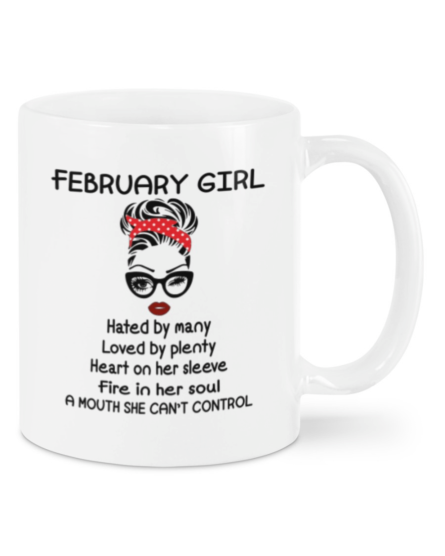 A Mouth She Can't Control Ladies Mug