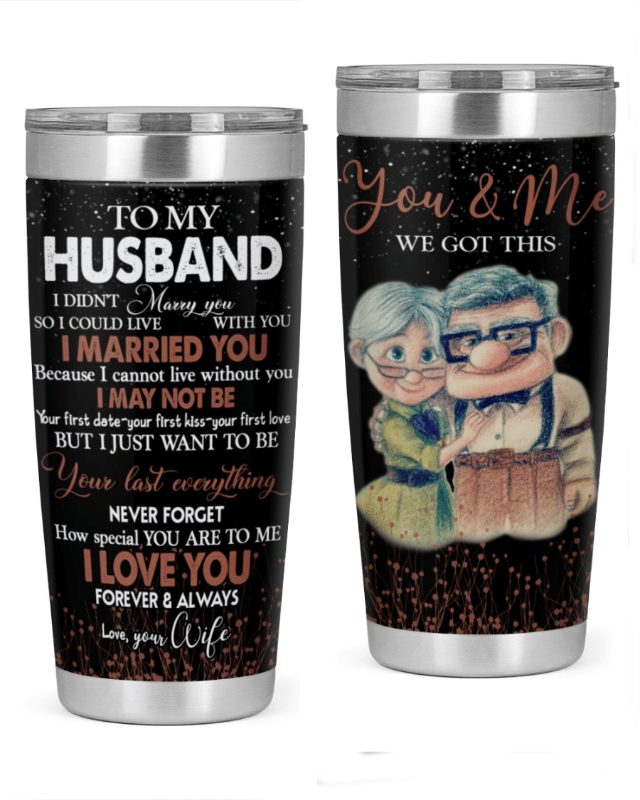 Valentine's Day Gift To My Husband Tumbler