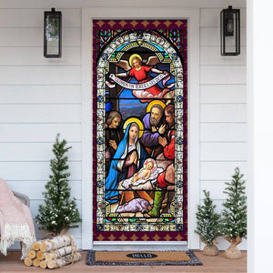 Jesus Christ Family Door Cover