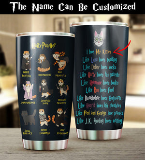 Customized Hairy Pawtter Tumbler