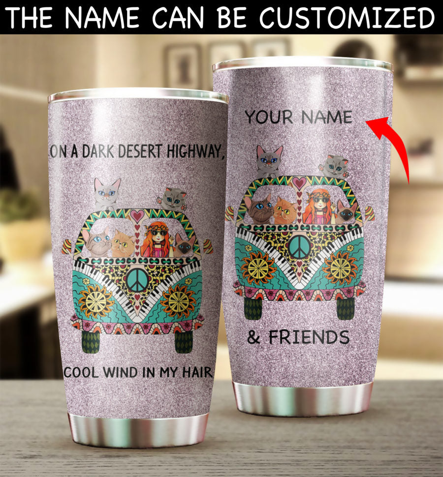 Customized HP Cat Car Tumbler