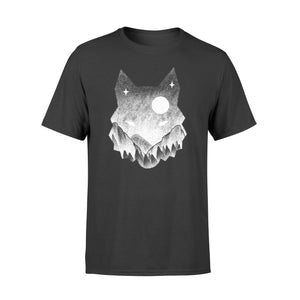 Cat Tattoo Mountain Cool Shirt