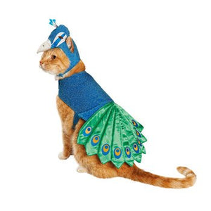 Peacock Cat Costume - Kawaii Kitty, The cutest Cat themed Gifts for cat lovers
