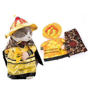 Emperor Cat Costume - Kawaii Kitty, The cutest Cat themed Gifts for cat lovers