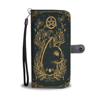 Cat Pentagram Wallet Case