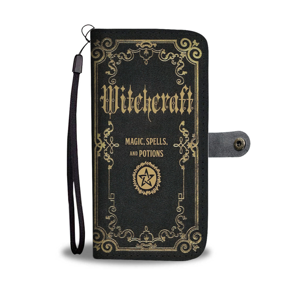 Witchcraft Magic Spell Wallet Case