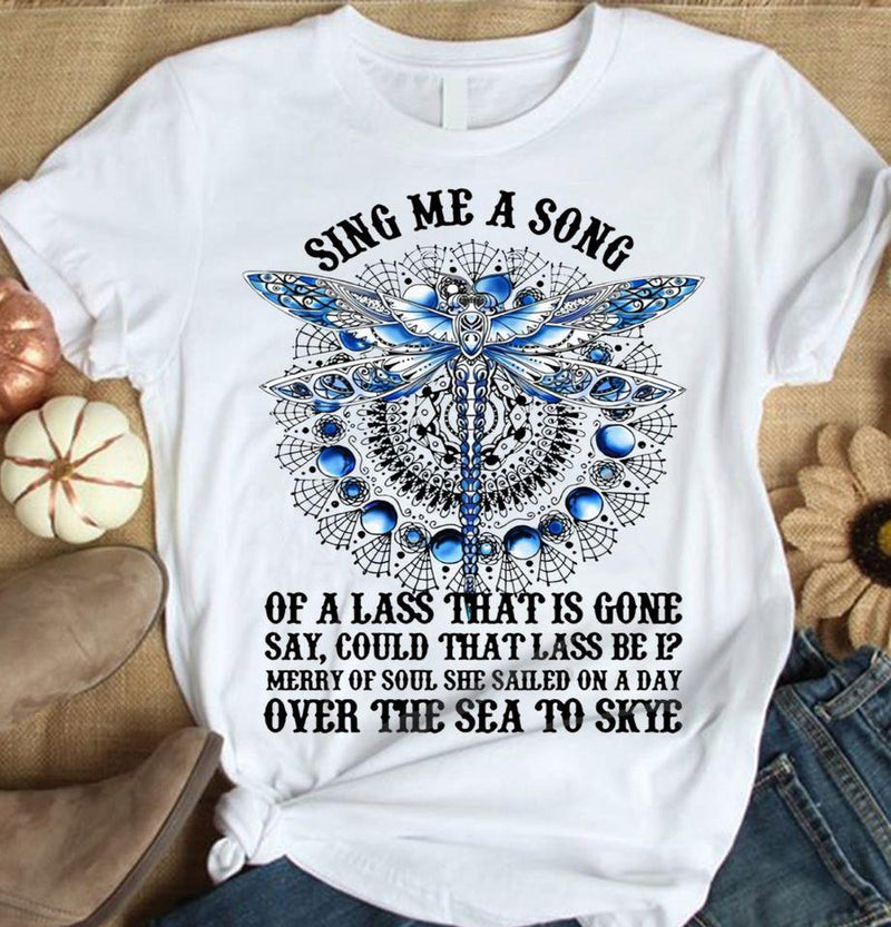 Sing A Song Dragonfly Christmas Shirt