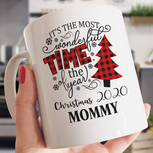 Special Christmas Gift To Your Mommy Red Caro Mug